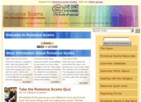 Romancescams.info thumbnail