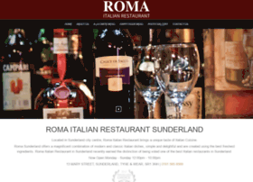 Romarestaurants.co.uk thumbnail