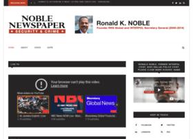 Ronaldknoble.info thumbnail