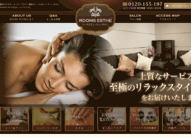 Rooms-esthe.co.jp thumbnail