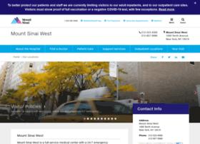 Andrew pizzimenti@mssm edu at Website Informer