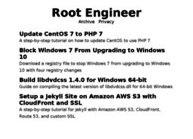 Rootengineer.net thumbnail