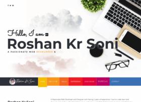 Roshankrsoni.in thumbnail