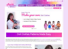 Rosiesdollclothespatterns.com thumbnail