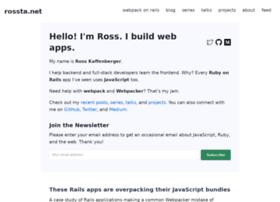 Rossta.net thumbnail