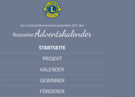 Rostocker Lions Adventskalender