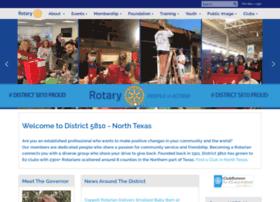 Rotary5810.org thumbnail