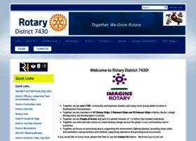 Rotarydistrict7430.org thumbnail