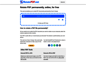 Rotatepdf.net thumbnail