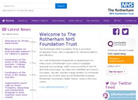 Rotherhamhospital.nhs.uk thumbnail