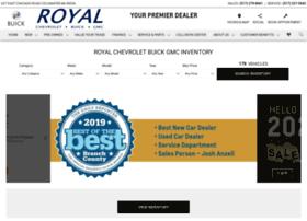 Royalchevy.net thumbnail