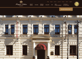 Royalpalacehotel.cz thumbnail
