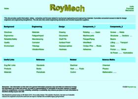 Roymech.org thumbnail