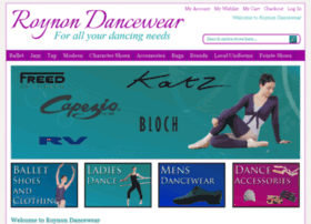 Roynondancewear.co.uk thumbnail