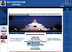Rrbmuzaffarpur.gov.in thumbnail