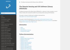 Rsgislib.org thumbnail