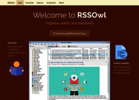 Rssowl.org thumbnail