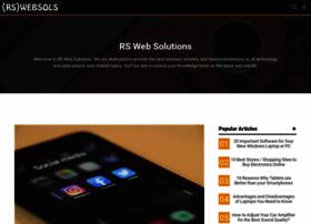 Rswebsols.com thumbnail