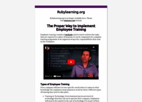 Rubylearning.org thumbnail
