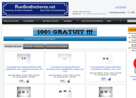 Ruedesencheres.net thumbnail