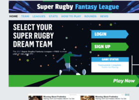 Rugby.ultimatedreamteams.com thumbnail