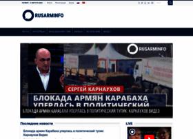 Rusarminfo.ru thumbnail