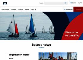Rya.org.uk thumbnail