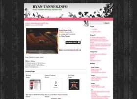 Ryan-tanner.info thumbnail