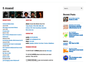 S-anand.net thumbnail