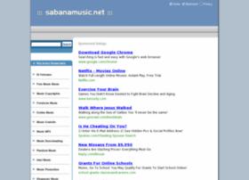 Sabanamusic.net thumbnail