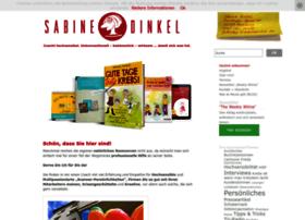 Sabinedinkel.de thumbnail