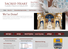Sacredheartcolwich.org thumbnail