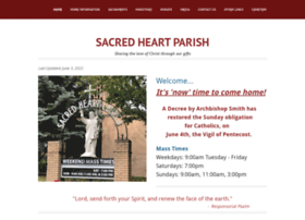 Sacredheartrd.ca thumbnail