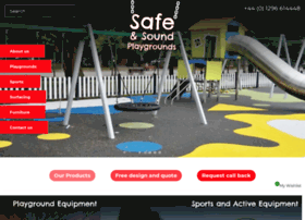 Safeandsoundplaygrounds.co.uk thumbnail