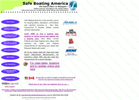 Safeboatingamerica.com thumbnail