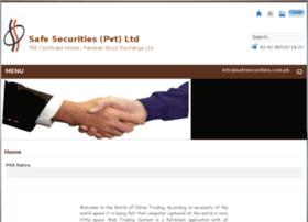 Safesecurities.com.pk thumbnail