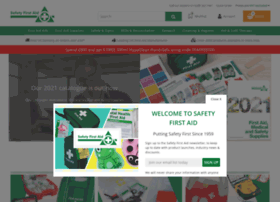 Safetyfirstaid.co.uk thumbnail