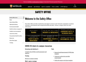 Safetyoffice.uwaterloo.ca thumbnail