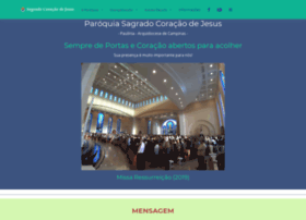 Sagradocoracaopaulinia.org.br thumbnail