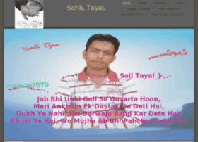 Sahiltayal.in thumbnail