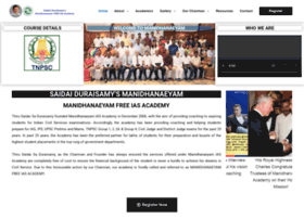 Saidaiduraisamysmanidhaneyam.com thumbnail