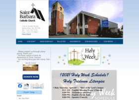 Saintbarbarachurch.org thumbnail
