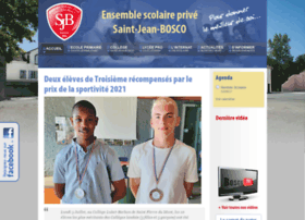 Saintjeanboscogabarret.fr thumbnail