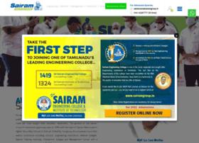 Sairamgroup.in thumbnail