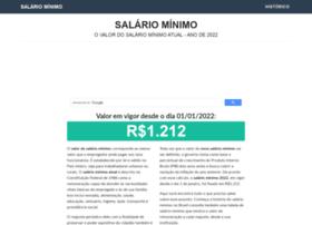 Salariominimo.net.br thumbnail