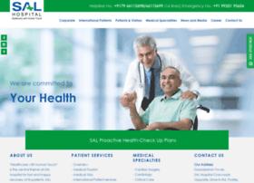 Salhospital.com thumbnail