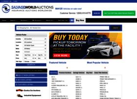 Salvageworldauctions.com thumbnail