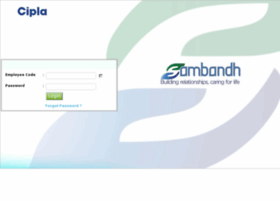 Sambandh.cipla.com thumbnail