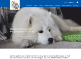 Samojede-in-not.de thumbnail