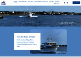 Samsonboats.com thumbnail